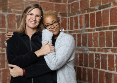 Juli Kaufmann and JoAnne Sabir - Milwaukee Business Journal