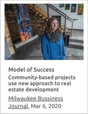 Juli Kaufmann in Milwaukee Business Journal March 2020