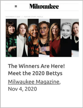 The Winners are Here! Meet the 2020 Bettys