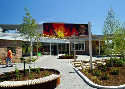 Sherman Phoenix New Entrance